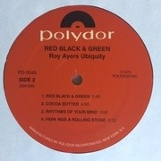 LP - Roy Ayers Ubiquity - Red Black & Green