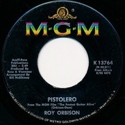 7'' - Roy Orbison - Cry Softly Lonely One / Pistolero