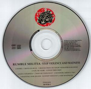 CD - Rumble Militia - Stop Violence And Madness