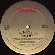 12'' - Run-D.M.C., Run-DMC - 30 Days