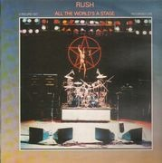 Double LP - Rush - All The World's A Stage