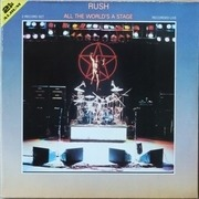 LP - Rush - All The World's A Stage