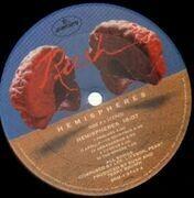 LP - Rush - Hemispheres