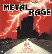 LP - Rush, Stryper, Bon Jovi ... - Masters Of Metal - Metal Rage