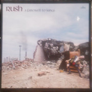 LP - Rush - A Farewell To Kings - Gatefold Cover