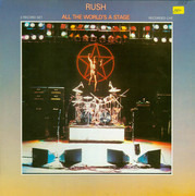 Double LP - Rush - All The World's A Stage - Gatefold