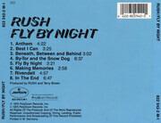 CD - Rush - Fly By Night