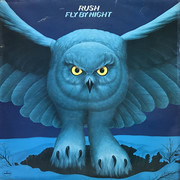 LP - Rush - Fly By Night - Laminated