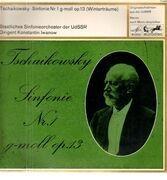 LP - Tchaikovsky - Sinfonie Nr. 1 G-moll Op. 13 'Winterträume'