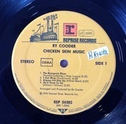 LP - Ry Cooder - Chicken Skin Music