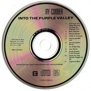 CD - Ry Cooder - Into The Purple Valley