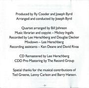 CD - Ry Cooder - Jazz