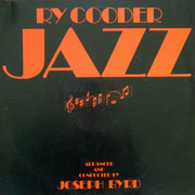 LP - Ry Cooder - Jazz - Palm Tree Labels