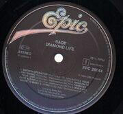 LP - Sade - Diamond Life - FOC