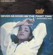 12'' - Sade - Never As Good As The First Time
