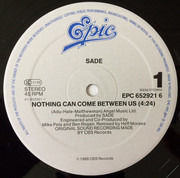12inch Vinyl Single - Sade - Nothing Can Come Between Us