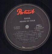 LP - Saga - Heads Or Tales