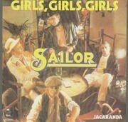 7'' - Sailor - Girls, Girls, Girls / Jacaranda
