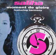 12inch Vinyl Single - Saliha - Moment De Gloire - single sided promo