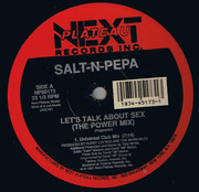 12'' - Salt 'N' Pepa - Let's Talk About Sex (The Power Mix)
