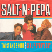 7'' - Salt 'N' Pepa - Twist And Shout / Get Up Everybody