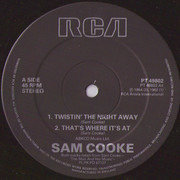 12inch Vinyl Single - Sam Cooke - Twistin' The Night Away