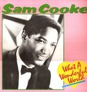 LP - Sam Cooke - What A Wonderful World - Blue Label