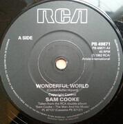 7inch Vinyl Single - Sam Cooke - Wonderful World
