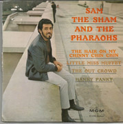7inch Vinyl Single - Sam The Sham & The Pharaohs - The Hair On My Chinny Chin Chin - Original French EP