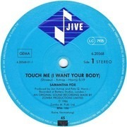 12inch Vinyl Single - Samantha Fox - Touch Me (I Want Your Body)