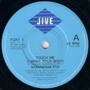 7'' - Samantha Fox - Touch Me (I Want Your Body)