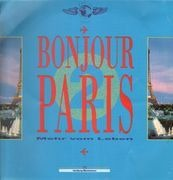 LP - Sam Cooke, The Drifters, Hot Chocolate, ... - Bonjour Paris - clear vinyl
