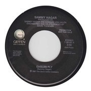 7inch Vinyl Single - Sammy Hagar - Eagles Fly / Hands And Knees