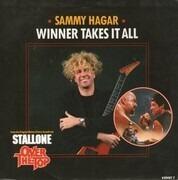 7inch Vinyl Single - Sammy Hagar - Winner Takes It All