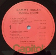 LP - Sammy Hagar - Musical Chairs