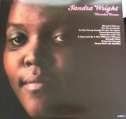 LP - Sandra Wright - Wounded Woman - Ltd.. Still Sealed