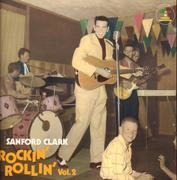 LP - Sanford Clark - Rockin' Rollin' Vol.2