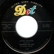 7'' - Sanford Clark - Lou Be Doo / Love Charms