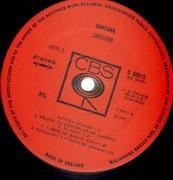 LP - Santana - 3 - GOLD STICKER