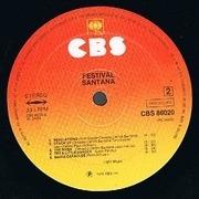 12'' - Santana - Festivál