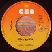 7'' - Santana - Havana Moon
