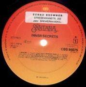 LP - Santana - Inner Secrets