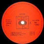 LP - Santana - Santana - BOXED CBS
