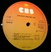 LP - Santana - Santana's Greatest Hits