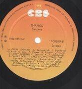 LP - Santana - Shango - Costa Rica LP