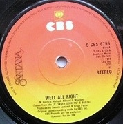 7'' - Santana - Well All Right