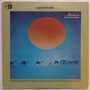 LP - Santana - Caravanserai - Quadraphonic