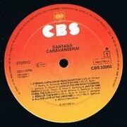 LP - Santana - Caravanserai - SUNBURST LABELS