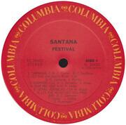 LP - Santana - Festivál