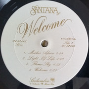 LP - Santana - Welcome